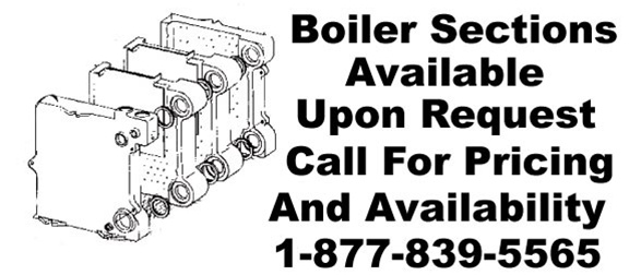Weil McLain boiler sections